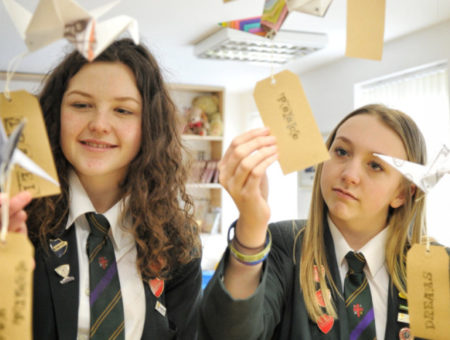 Kind pupils touched by plight of homeless