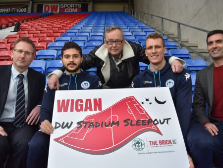 Join us at the DW Stadium Sleepout – April 6th 2018