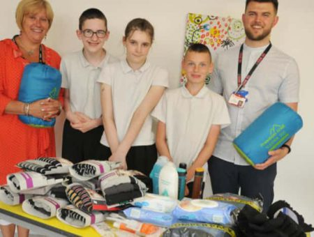 Cash challenge turns Wigan pupils into fortune hunters
