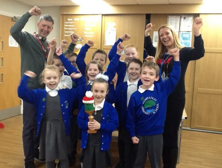 Winstanley Primary School Wins Festive Food Monster Competition